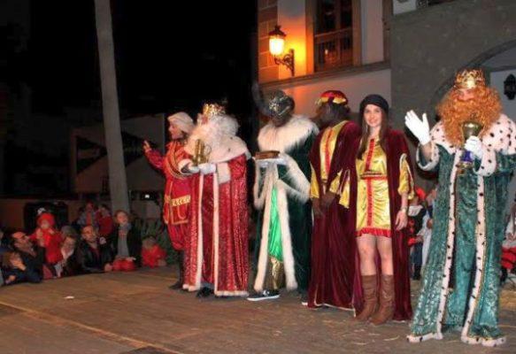 Reyes Magos en Adra