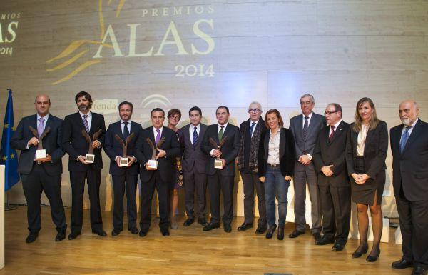Entrega premios ALAS 2014