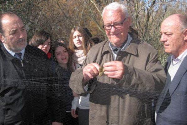 Lorenzo García, natural de la Alquería de Adra, primer anillador de aves