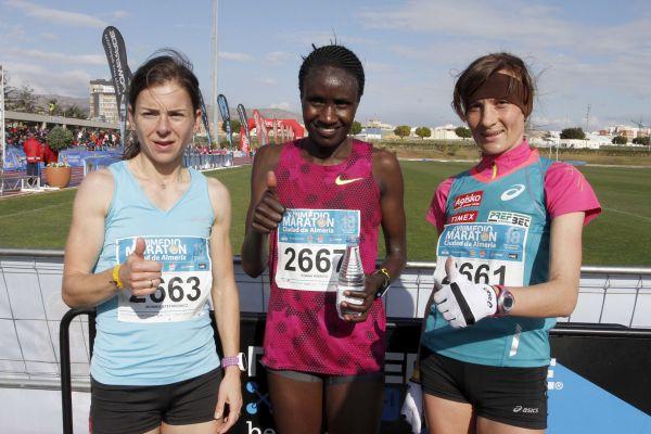 Medio Maratón 15 , ganadoras