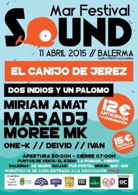 Cartel del festival de primavera de Balerma