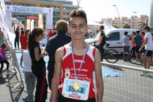 Nabil Sebbar ganó la prueba cadete