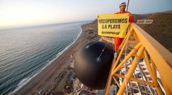Algarrobico. Greenpeace