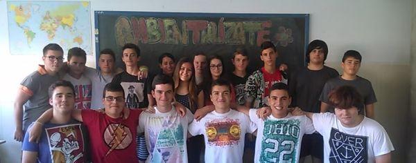 Grupo de estudiantes del IES El Parador