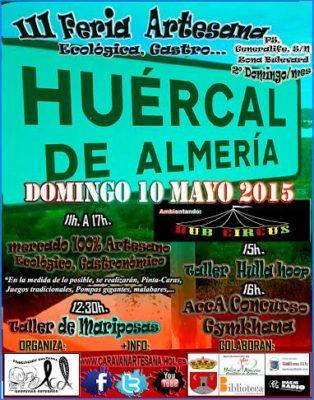 Cartel de la III Feria Artesana