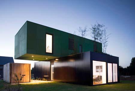 Casa en contenedor. Foto Vidamasverde