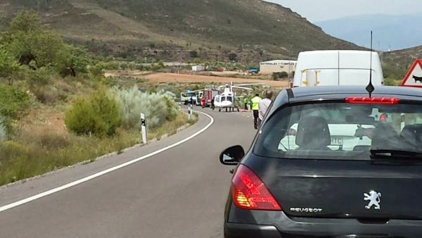 Accidente trafico con helicoptero 2