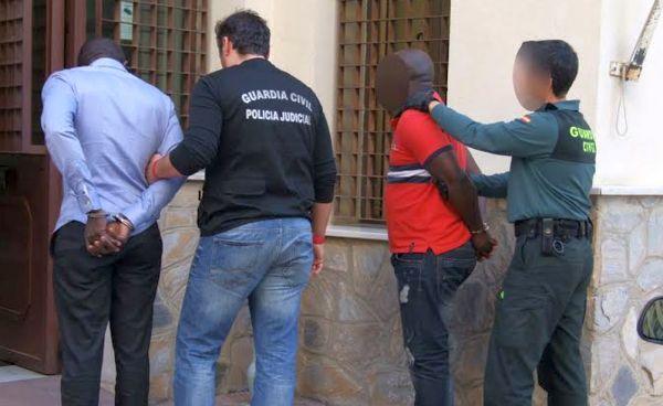 Detención guardia civil