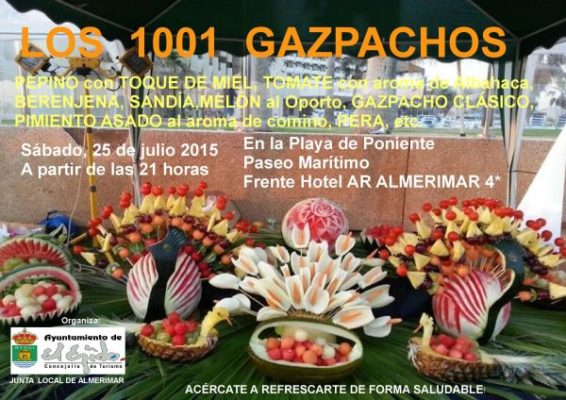 Cartel de 1001 Gazpachos