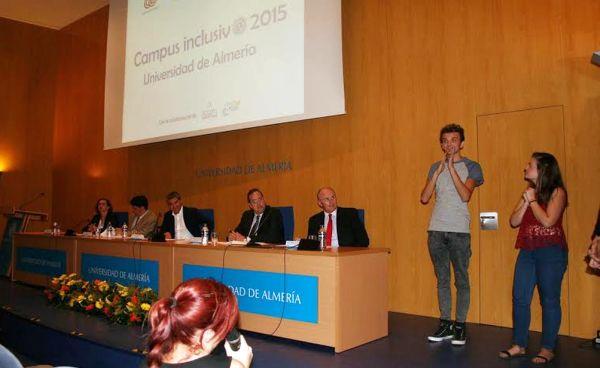 Jornada inaugural del Campus Inclusivo en la UAL