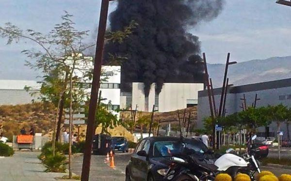 Explosión en el PITA