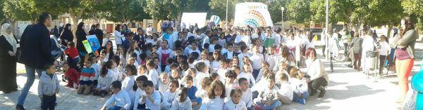 Los escolares ejidenses, principales protagonistas del Día de la Paz