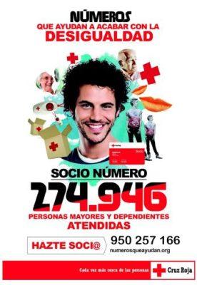 Campaña de captación de socios en Almería