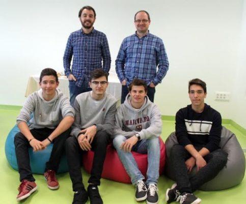 Los alumnos del SEK en Mobile Studio