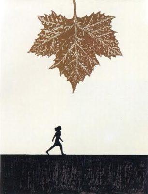 'Alba y hoja', obra de Doroteo Arnáiz