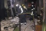Desalojo preventivo de 30 vecinos en El Ejido por un incendio de vivienda ya extinguido