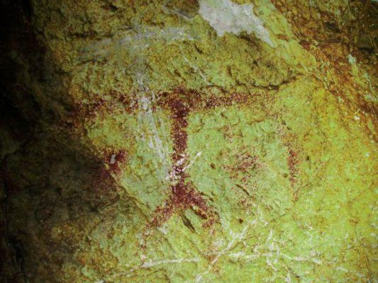 Espeleólogos descubren nuevas pinturas rupestres en la Sierra de María