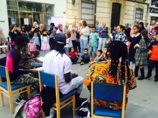 Percusión étnica para amenizar la tarde