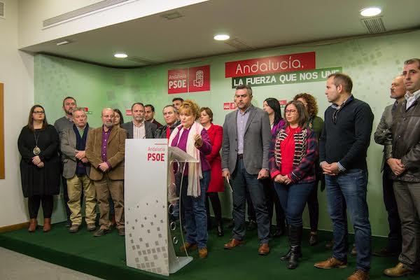 Alcaldes socialistas hacen el anuncio de su posible salida del Consorcio de Residuos