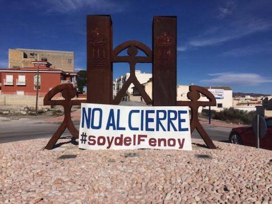El AMPA del Francisco Fenoy de Albox se suma a la manifestación de Almería en defensa de la educación pública
