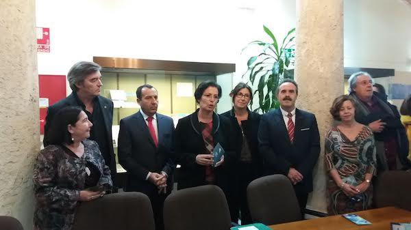 Delegados del Gobierno en Almería y Málaga, entre otros, en un homenaje a las víctimas de 'La Desbandá'