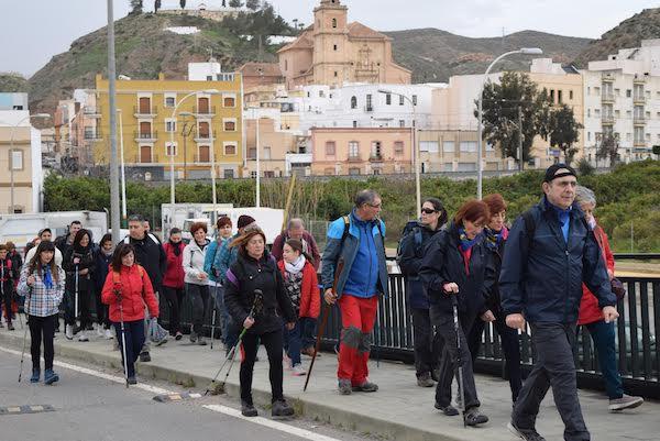 Los caminantes partieron del municipio de Gádor