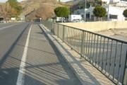 Corte total de la carretera de Adra a Alcolea por una voladura controlada