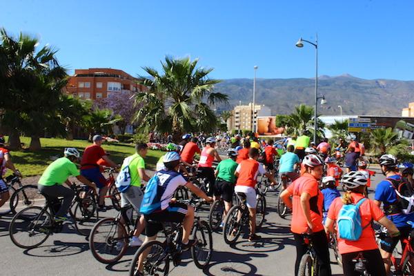 El Día de la Bicicleta se celebra desde hace 31 años en la localidad ejidense