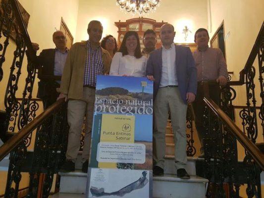 Inauguración de la muestra itinerante sobre el espacio protegido ubicado entre El Ejido y Roquetas.