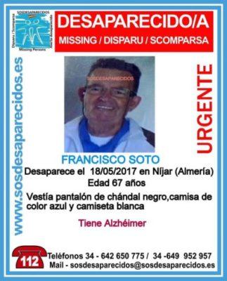 Desaparecido Níjar