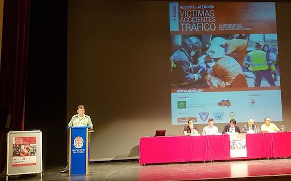 Jornadas El auditorio Maestro Padilla ha acogido estas 'V Jornadas de Rescate y Accidentes de Tráfico'