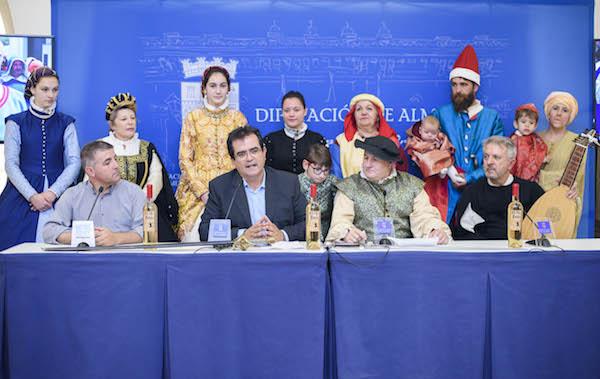 Presentación de La Paz de las Alpujarras en Diputación Provincial de Almería