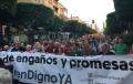 La Mesa del Ferrocarril de Almería aprueba el pacto de la 'indignación' y anuncia movilizaciones