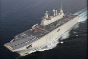 Cancelada la llegada del portaviones Juan Carlos I a Almería