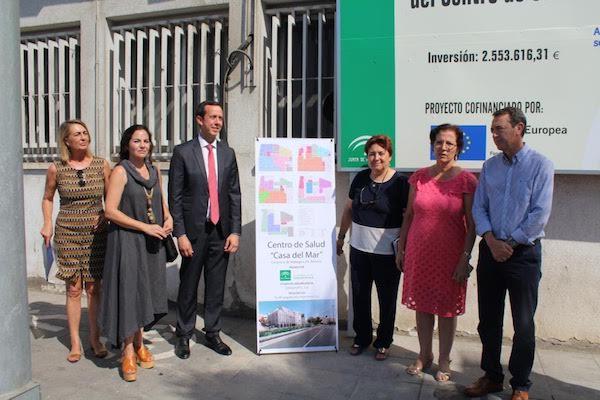 Autoridades sanitarias dan a conocer el proyecto de mejora del centro de salud en la antigua Casa del Mar