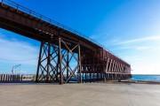 La ONCE dedica un cupón al Cable Inglés del puerto de Almería