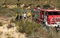 Bomberos del Levante rescatan el cuerpo sin vida de un hombre en un lago de Mojácar