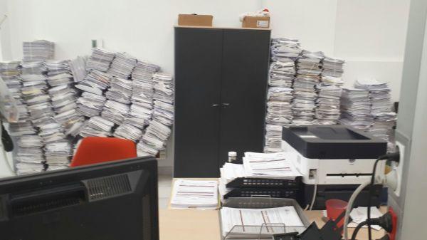 El colapso en el sepe de el ejido y roquetas deja sin for Oficina correos almeria