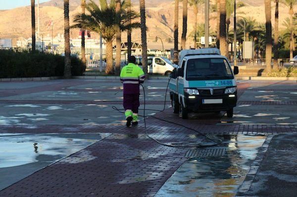 Servicio limpieza urbana Almería