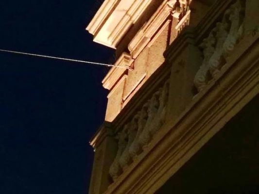 Los dos BIC afectados por la actuación son los edificios de la Delegación del Gobierno y el Teatro Cervantes