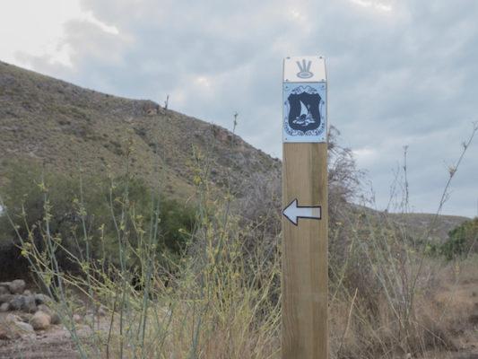 Señalización actualizada en algunos senderos aptos para peregrinos