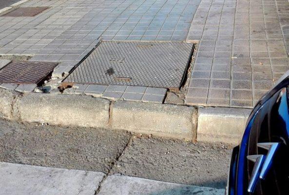 Paso peatones Calle Alcázar Nueva Andalucía