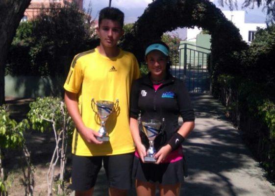 Sergio Capel y Silvia Vargas, campeones provinciales absolutos