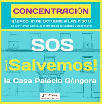 171010 AAAA-Concentracion Casa Palacio de Gongora