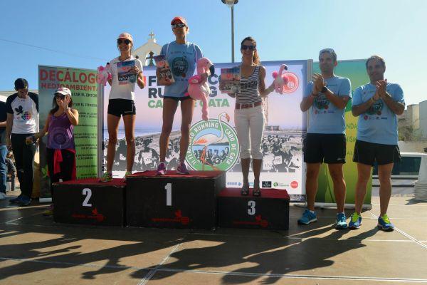 II Flamenco Running ganadores mujeres