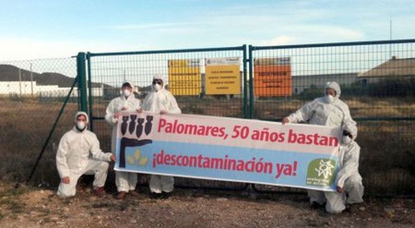 Residuos nucleares. Palomares