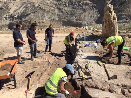 Excavación Macael