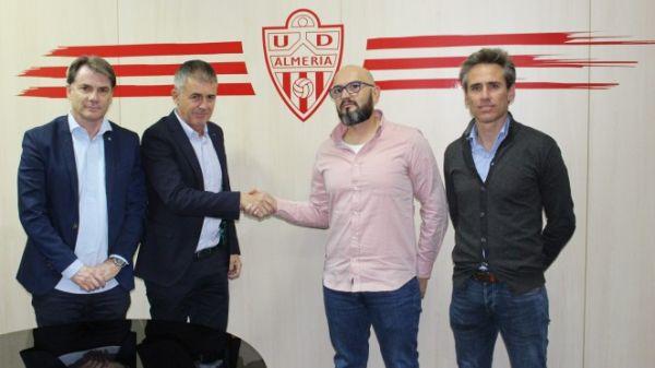 Lucas Alcaraz, nuevo entrenador del Almería