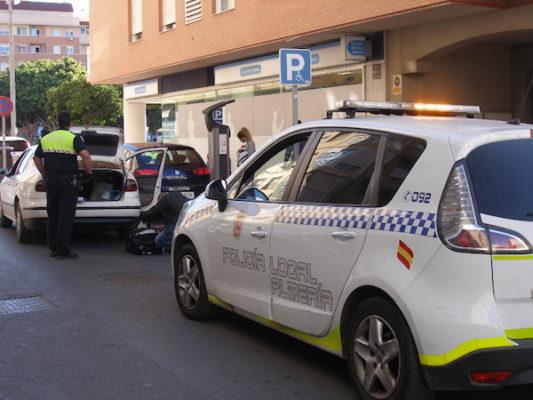 Sancionados nueve taxis pirata en Almería con el pago de 4.000 euros cada uno