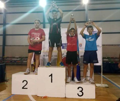 Alonso Rincón gana el Zonal 2017 de tenis de mesa